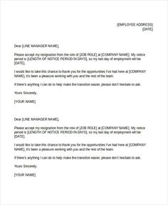 Resignation letter format with reason describing the reason of 23 simple resignation letters free premium templates spiritdancerdesigns Choice Image