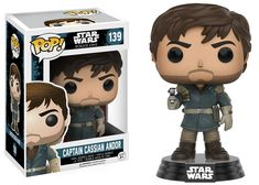 Star Wars Rogue One: Captain Cassian Andor mountain outfit Pop figure by Funko