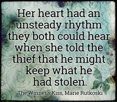 The Winner's Kiss quote, The Winner's Curse quote by Marie Rutkoski