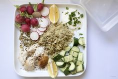 Chicken lemon quinoa – Mediterranean dreaming