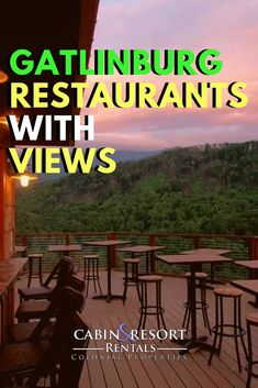 Gatlinburg Restaurants with the Best Views Gatlinburg, Tennessee is well known for its delicious dining establishments. These are the restaurants in Gatlinburg with the best [. Gatlinburg Restaurants, Gatlinburg Vacation, Tennessee Vacation, Tennessee Gatlinburg, Tennessee Cabins, Pigeon Forge Tennessee, Salt Lake City, Smoky Mountains Tennessee, Great Smoky Mountains