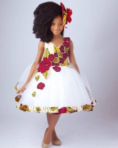 """Amazing Kids Clothing By """"Ms Izella Kids Couture"""" ⋆ Whp-Media Baby African Clothes, African Dresses For Kids, African Children, Latest African Fashion Dresses, African Print Dresses, Little Girl Dresses, Girls Dresses, Dresses Dresses, Indian Fashion"""