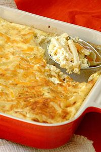 Peter Copeland helped me prepare this dish. Serve with Ina Paarman's Peach Apricot Chutney. Baked Pasta Recipes, Cooking Recipes, Pasta Dishes, Food Dishes, Brunch Recipes, Appetizer Recipes, Magic Cake Recipes, Kos, Best Vegetarian Recipes