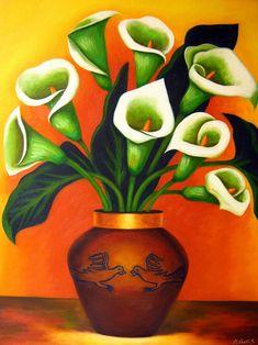 Marco Costa Artista Visual: Pinturas de Calas