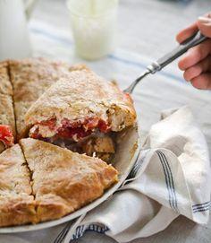 Summer Tomato Pie #recipe