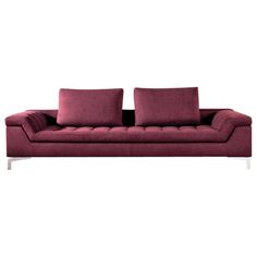 Cine Sofa  Contemporary, MidCentury  Modern, Transitional, Upholstery  Fabric, Leather, Metal, Wood, Sofa by Collective Form