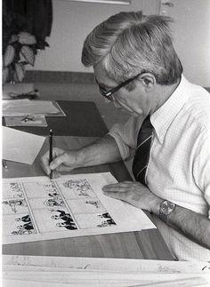 Hergé (Etterbeeck 1907, Woluwe 1983) (Belgique) Dessinateur