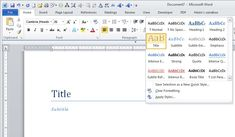 How to Use Microsoft Word to Create an Ebook | PCWorld