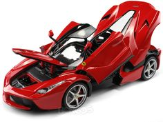 "Ferrari LaFerrari ""Signature Series"" 1:18 Scale - Bburago Diecast Model (Red) #ferrari #scuderiaferrari #458 #458italia #488 #f12 #dino #enzo #enzoferrari #laferrari #italia #ferraricalifornia #308gto #599gto #speciale #supercar #hypercar #thegrandtour #diecast #118scale #124scalemodelcars"