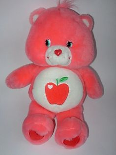 Smart Heart Bear... these were called CARE BEARS IN AUSSIE...and they had many different types... 1980's
