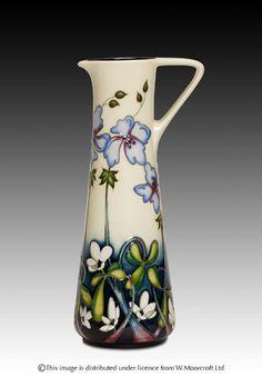 Moorcroft Pottery, Wild Meadow, designed by Nicola Slaney