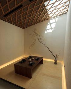 """Art Villa complex (block D)   Jeju Island, Korea • Kengo Kuma + Associates. """"My idea is that architectural forms should be quiet."""" ― Kengo Kuma"""