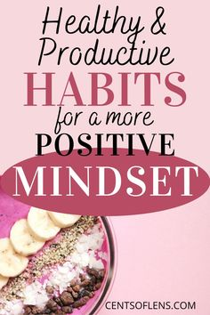 Do you struggle with positivity? Do you want a more uplifting mindset? Find out how you can achieve a more positive mindset with these healthy and productive habits! #habits #positivity #productivehabits #mindset #healthymindset #positivemindset Becoming A Better You, How To Become, Good Habits, Healthy Habits, Increase Productivity, Positive Mindset, How To Better Yourself, Feel Better, Personal Development