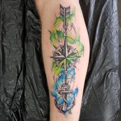 Tatuagem de âncora: 90 ideias INCRÍVEIS para representar sua força Archangel Tattoo, Colorful Butterfly Tattoo, Anchor Tattoo Design, Full Sleeve Tattoos, Watercolor Tattoo, Tatoos, Tatting, My Photos, Tattoo Designs