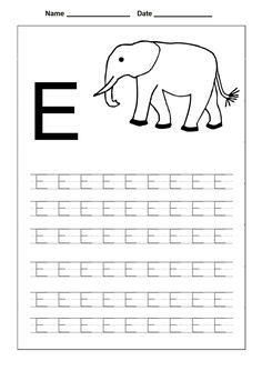 148 Best Letter Tracing Worksheets Images Preschool Alphabet