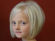 Part of me wants to run Abby to the salon and get her this haircut. I love it. It almost looks a little too grown up for a 3 yr old but oh how cute. I love this cut..even for me!
