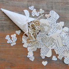 Doily + Paper Confetti Love!