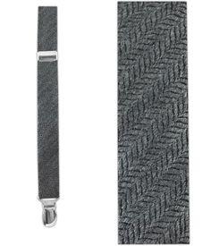 Wavebone Wool - Gray (Suspenders - Skinny) | Ties, Bow Ties, and Pocket Squares | The Tie Bar