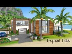 Sims 3 House - Building Tropical Tides
