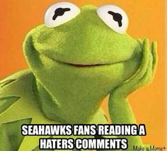 Love Those Seahawk Haters