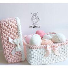My Crochet Dream Crochet Bowl, Crochet Basket Pattern, Crochet Art, Love Crochet, Crochet Hooks, Crochet Patterns, Crochet Decoration, Crochet Home Decor, Knitting Stiches