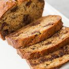 Dark Chocolate Chip & Walnut Banana Bread