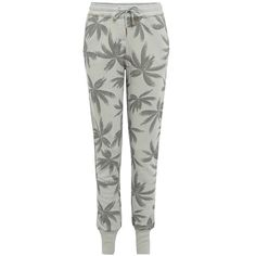 Zoe Karssen Light Blue Palm Sweatpants
