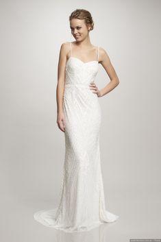 Vestidos de novia largos y elegantes
