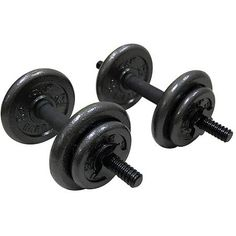 Gold's Gym Adjustable Cast Dumbbell, Set of 2 by Golds Gym. Gold's Gym Adjustable Cast Dumbbell, Set of Adjustable Weight Dumbbells, Adjustable Dumbbell Set, Weights Dumbbells, Gym Weights, Adjustable Weights, Used Gym Equipment, No Equipment Workout, Training Equipment, Weight Lifting Bar