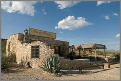 La Posada Milagro, located in the Ghostown of Terlingua, Texas,    features rustic luxury accomodations at an affordable price.  Guests enjoy    sun decks, fire pits and an extraordinary view of old Terlingua,    the Chisos Mountain range and Big Bend National Park.