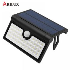 ARILUX Foldable Solar LED Light 14/42/58leds SMD2835 PIR Motion Sensor Wall Light Waterproof Garden Outdoor Lamp  Price: $24 & FREE Worldwide Shipping  #gadgets #gadgetsale #newtech #gadgethawk #freeworldwideshipping #thegadgethawk #toptech #electronics #onlinegadgets #ecommercetech