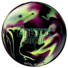Columbia 300 Freeze Solid Black/Purple/Yellow  This is my bowling ball!  love it!