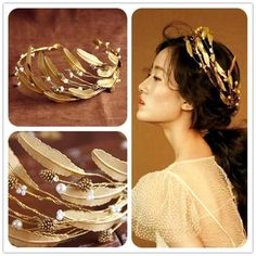 Continental retro baroque crown tiara headband bridal hair accessories gold jewelry studio leaves female line dress s92-in Hair Jewelry from Jewelry on Aliexpress.com | Alibaba Group
