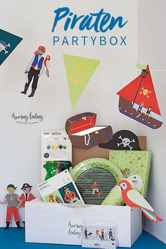40th Party Ideas, 30th Party, Party Box, Birthday Box, 50th Birthday Party, Fiestas Party, Lumberjack Party, Diy Baby Gifts, Baptism Party