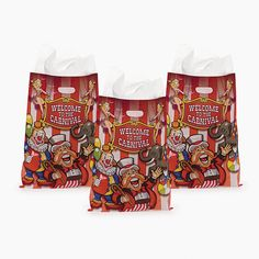 Under The Big Top Bags (50 pc) by Fun Express * Continue to the product at the image link.