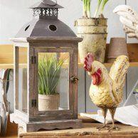 34ea615575e490d8016c659e01783cf5 - Better Homes And Gardens Farmhouse Large Lantern Rustic Finish