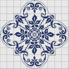 Square 62 - Chart for cross stitch or filet crochet. Cross Stitch Pillow, Cross Stitch Borders, Cross Stitch Charts, Cross Stitch Designs, Cross Stitching, Cross Stitch Embroidery, Embroidery Patterns, Cross Stitch Patterns, Crochet Patterns