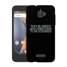 Coolpad Catalyst Too Blessed to Be Stressed Chalk Slim Case