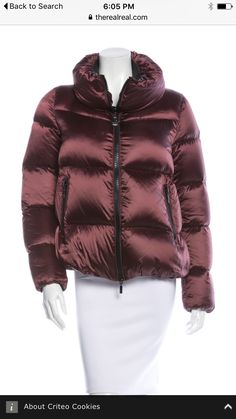Moncler, Jackets, Winter Fashion, Down Jackets, Winter Fashion Looks,  Winter Dress b1113367e60
