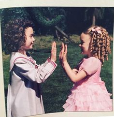 Aww Bronwyn and Claire I love it how they're BFFs in real life