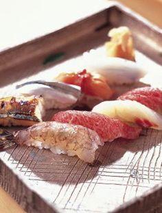 nigiri plate # ginza kyubey 銀座 久兵衛                                                                                                                                                                                 もっと見る