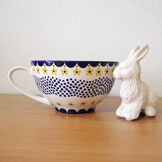 絵付けをしたかわいいスープカップ ー dot floret ー Hand Painted Ceramics, Ceramic Painting, Minne, Mugs, Tableware, Instagram, Hand Painted Pottery, Dinnerware, Tumblers