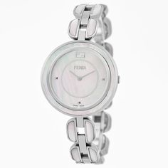 Fendi Women's F361034500 'My Way' Dial Stainless Steel MOP Swiss Quartz Watch