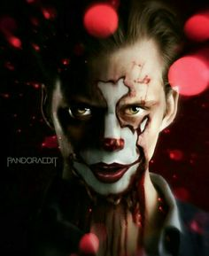 An Art Edit ✝ Of Bill Skarsgãrd As Pennywise In Stephen King's IT Movie Reboot..