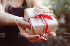Christmas gift zbiór zdjęć royalty-free