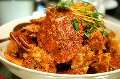 my fave chili crab :)crab chili Singapore Chili Crab Recipe, Chilli Crab Recipe, Crab Recipes, Spicy Recipes, Asian Recipes, Cooking Recipes, Crab Dishes, Seafood Dishes, Singapore Food