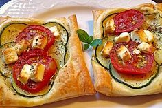 Blätterteig mit Tomate, Zucchini und Feta (Rezept mit Bild) | Chefkoch.de