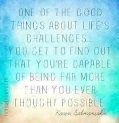 Life's challenges