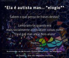 Autismo, Autista, PEA, TEA #Autismo Sentences, Autism