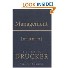 Amazon.com: Management Rev Ed (9780061252662): Peter F. Drucker: Books
